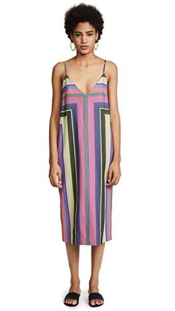 Mara Hoffman dress rainbow