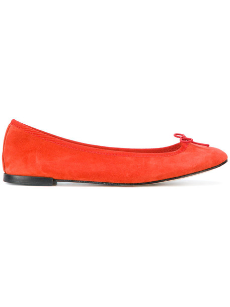 women classic pumps leather suede yellow orange shoes