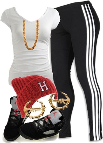 jewels swagger clothes dope t-shirt shoes leggings