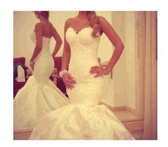 wedding dress wedding clothes mermaid wedding dresses dress lace