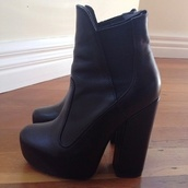 shoes,boots,black,heel,fall outfits,winter outfits,high heels,leather,booties