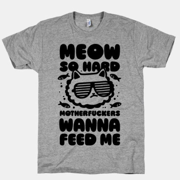 kanye west t-shirt grey cats kitty cat party hipster casual meow meow shirt grey t shirt unisex shirt quote on it kittens cats