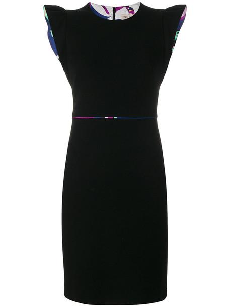 Emilio Pucci dress women spandex black
