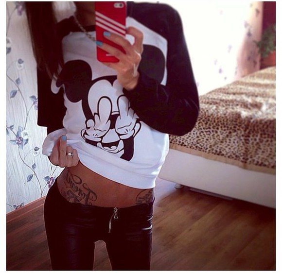 sweater outfits outfit jumpsuit mickey mouse tracksuit pullover