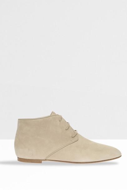 The Row Women`s Ada Boots in beige / beige