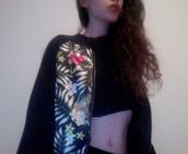 jacket,hipster,grunge,soft grunge,floral,floral print jacket,tumblr,site model,site models