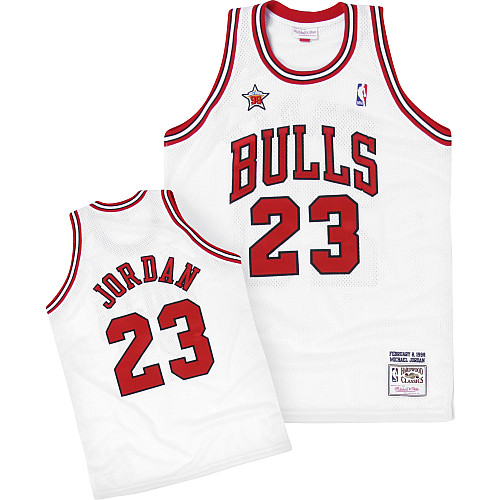 official photos 4fc91 7d5a1 Mitchell & Ness Chicago Bulls Michael Jordan 1998 All Star Authentic Jersey  - NBAStore.com