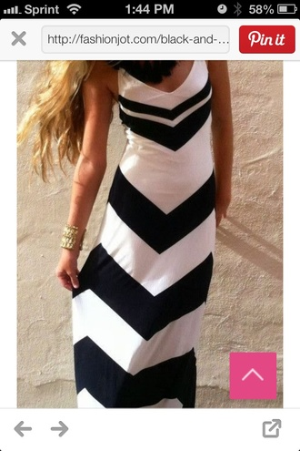 dress black and white maxi dress bag black and white chevron maxi straps sleeveless clothes long dress black and white dress summer dress chevron maxi black and white chevron maxi chevron dresses black white chevron dress maxi dress trendy summer fashion style rose wholesale-ma