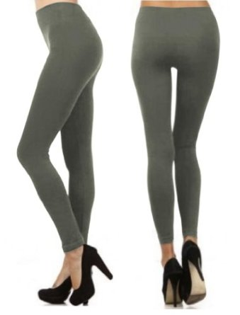 Amazon.com: Different Thickness (Regular & Fleece Lined) Leggings Seamless Stretchy: Clothing