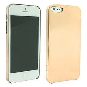 Apple iPhone 5/5S Platinum Light Gold Hard Cover Case