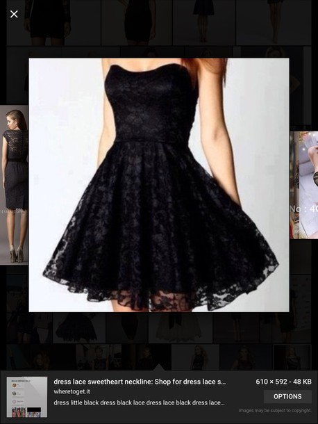 dress lace black black dress skater dress lace dress