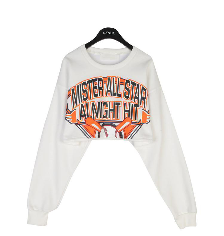 Mister all star cropped top