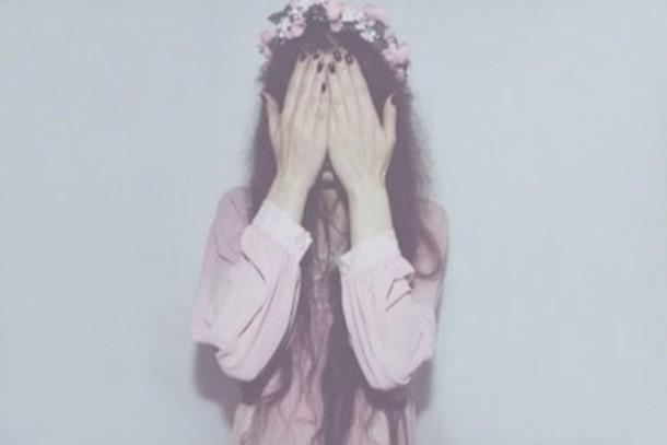 blouse pink roze white boho boho chic