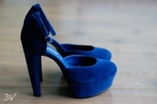 shoes,blue,high heels