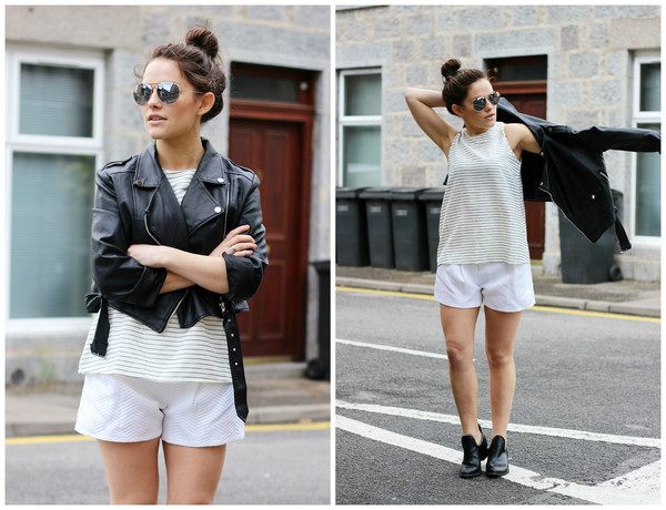 the little magpie top jacket shorts shoes