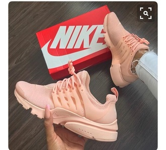shoes pink baby pink pastel nike sportswear sport shoes summer fashion running shoes nike running shoes