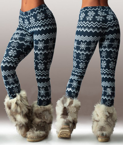 0630e85792bc6b leggings nike pants skinny pants snowflake snow girly girly wishlist fall  outfits outfit idea winter outfits