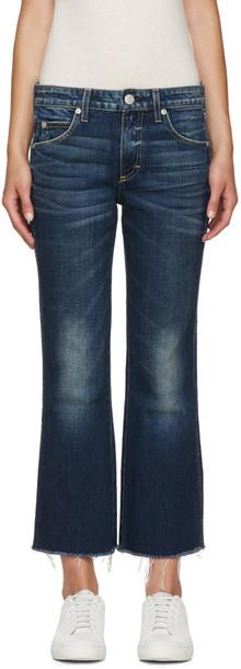 amo jeans blue