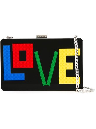 love clutch black bag