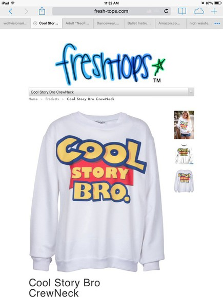 sweater cartoon blue toy story