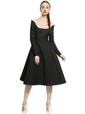 dress,black,Valentino,luxury,retro