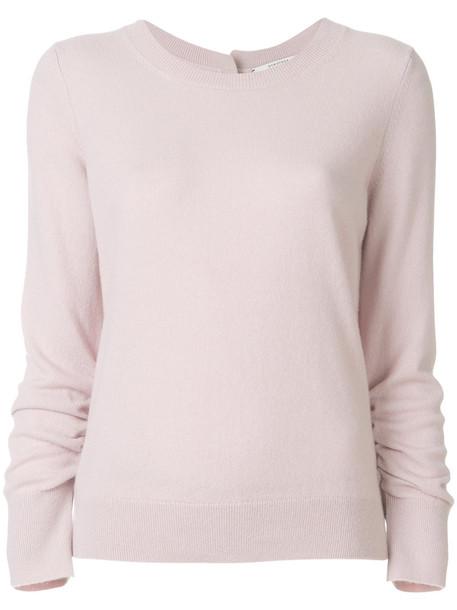 jumper women soft classic purple pink sweater