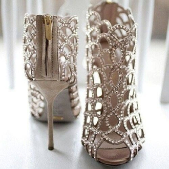 shoes heels sparkle prom