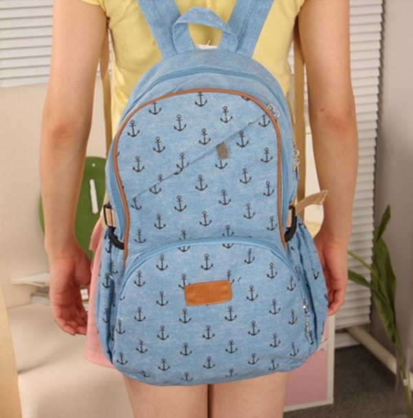 bag canvas backpack