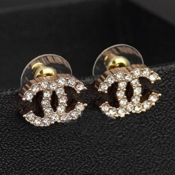 jewels, earrings, chanel, hipster, hippie - Wheretoget