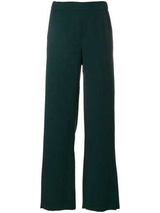 pants palazzo pants women green