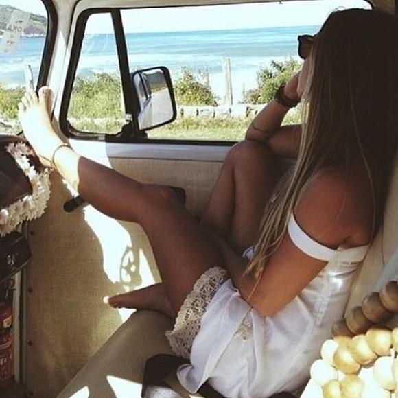 white dress sundress