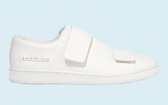 shoes white sneakers white white shoes acne studios