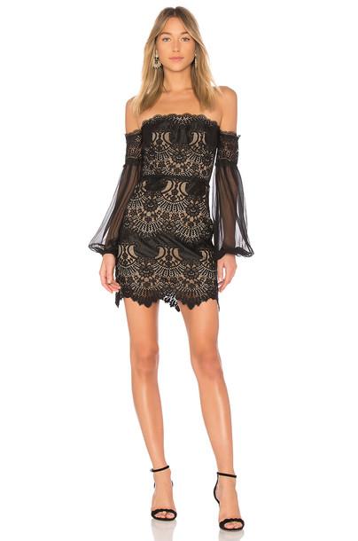 X BY NBD dress black