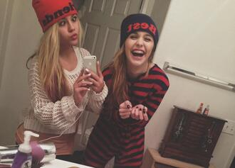 hat weird best acacia brinley friendsip friendship friend onedie sweater jumper girl irls be her underwear