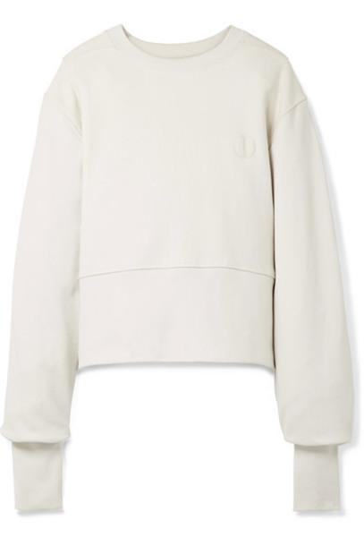 Tre sweatshirt oversized cotton sweater