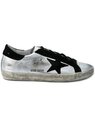 sneakers metallic shoes