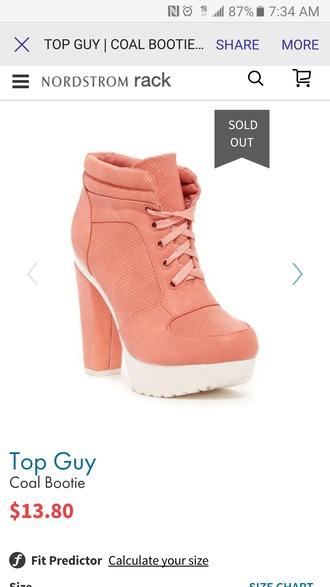 shoes tangerine