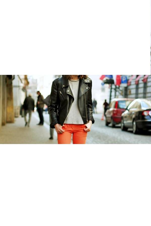 black biker jacket leather jacket leather black outerwear jacket