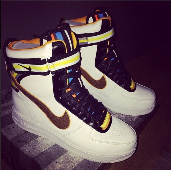 new concept bf050 69a51 air force 1 hi sp tisci - whitebaroque brown - Nike Air Forc