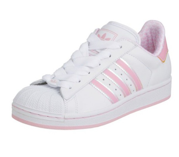 pink classic adidas shoes