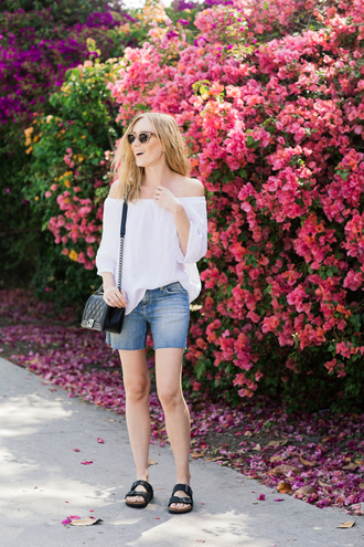eat sleep wear blogger top shorts jeans bag shoes