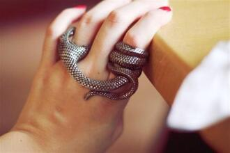 jewels ring snake