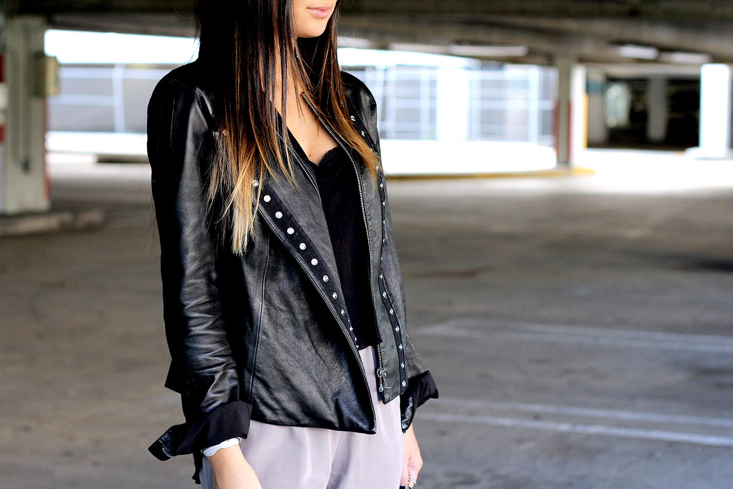 Leather Jacket Lovin'. - The Material Girl | Macarena Ferreira | Personal Style Blogger
