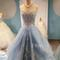 Custom made sweetheart tulle lace long prom dress, evening dresses - 24prom