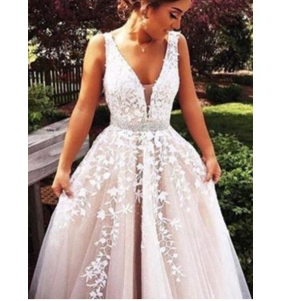 dress v neck dress embroidered lace dress prom dress maxi dress satin gown deep v neck dresses satin dress