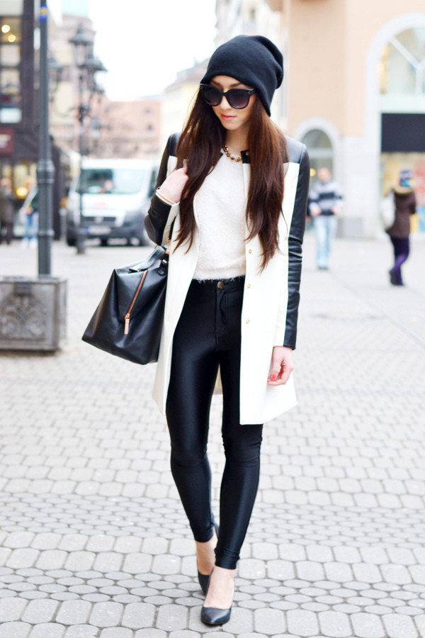 flirting with fashion coat sweater pants shoes bag hat sunglasses