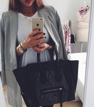 bag coat jacket dress necklace home accessory