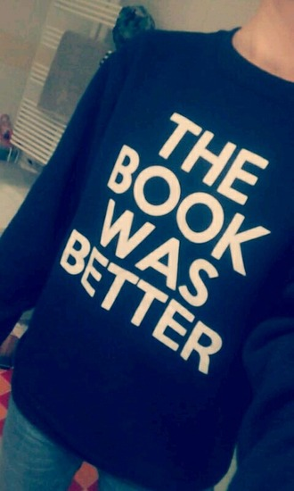 sweater book the hunger games