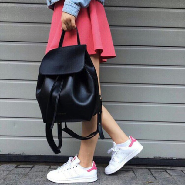 shoes adidas superstar stan smith pink white black mansur gavriel bag