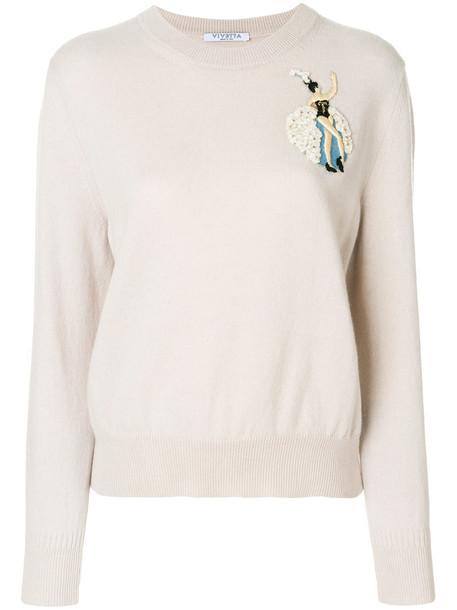VIVETTA sweater women nude wool